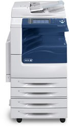 Цветное A3 формата МФУ Xerox WorkCentre 7120 CP_T