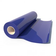 Термоплёнка Poli-Flex Premium 406 Royal Blue, рулон 0,5x25м