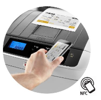 Функция NFC на принтерах OKI