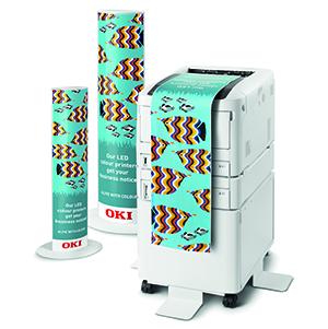 Цветной принтер А3 формата OKI