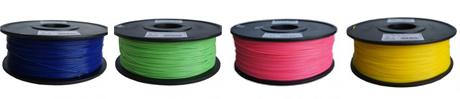 ABS пластик и PLA пластик для 3D принтеров