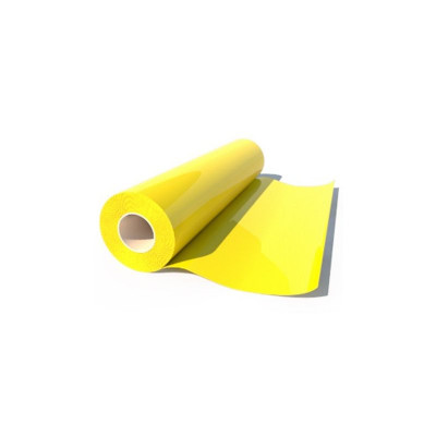 Термоплёнка Poli-Flex Premium 410 Yellow, рулон 0,5x25м