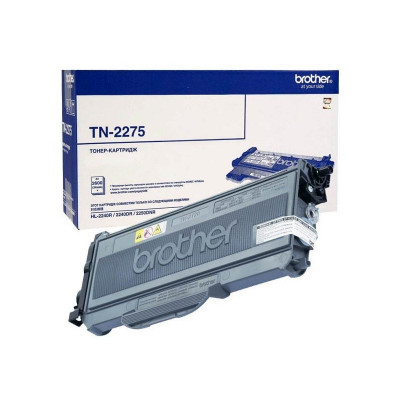 Тонер-картридж Brother TN-2275 (black), 2600 стр