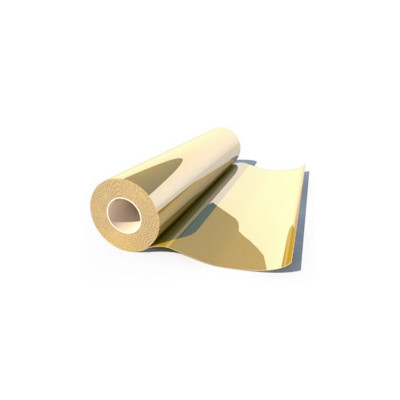 Термоплёнка Poli-Flex Premium 420 Gold metallic, рулон 0,5x25м